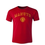 Manchester United Block Youth T-Shirt
