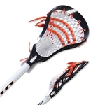 Warrior Torch Complete Lacrosse Stick (Black)