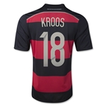 Germany 14/15 KROOS Away Soccer Jersey (4 Stars)