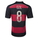 Germany 14/15 OZIL Away Soccer Jersey (4 Stars)