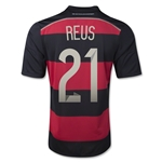 Germany 14/15 REUS Away Soccer Jersey (4 Stars)
