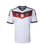 Germany 14/15 Youth Home Soccer Jersey (4 Stars)