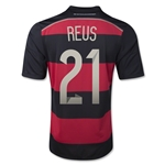 Germany 2014 REUS Youth Away Soccer Jersey