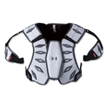 Under Armour Charge Lacrosse Shoulder Pads (White)