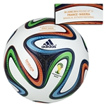 adidas Brazuca 2014 FIFA World Cup Official Match-Specific Ball (France-Nigeria)