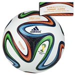adidas Brazuca 2014 FIFA World Cup Official Match-Specific Ball (Germany-Algeria)