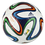 adidas 2014 Brazuca Sala 5x5 Ball (White/Night Blue/Multicolor)