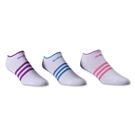 adidas Women's Superlite 6-Pack No Show Sock (White)