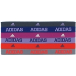 adidas Women's Sidespin Hairband 6 Pack