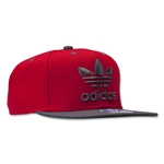 adidas Originals Thrasher II Snapback Cap (Red/Blk)