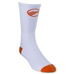 Maverik Big Time Performance Crew Sock (Orange)