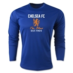 Chelsea Graphic Long Sleeve Training Top (Royal)