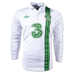 Ireland 12/13 Away Long Sleeve Soccer Jersey