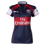 USA 2014/2015 Women's Home Rugby Jersey