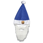 Barcelona Santa Hat and Beard