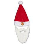 Manchester United Santa Hat and Beard