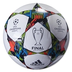 adidas Finale Berlin Capitano Ball (White/Solar Blue)