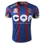 Newcastle Jets 14/15 Home Soccer Jersey