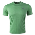adidas ClimaLite Heathered T-Shirt (Green)