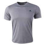 adidas ClimaLite Heathered T-Shirt (Gray)