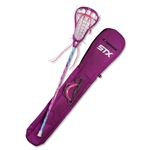 STX Women's Exult 100 Lacrosse Starter Pack 15 (Purple)
