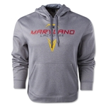 Under Armour Maryland ArmourFleece 2.0 Lacrosse Hoody (Gray)