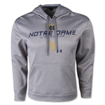Under Armour Notre Dame Lacrosse ArmourFleece 2.0 Hoody (Gray)