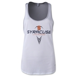 Under Armour Syracuse Lacrosse Women's Mesh Tank (White)