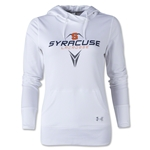 Under Armour Syracuse Lacrosse Women's French Terry Hoody (White)