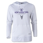 Under Armour Northwestern Lacrosse Women's French Terry Hoody (White)