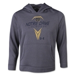 Under Armour Notre Dame Lacrosse Youth Hoody (Dk Grey)