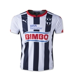 Monterrey 14/15 Youth Home Soccer Jersey