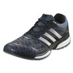 adidas Response Boost TechFit Running Shoe (Bold Onyx/Silver Metallic/Black)