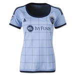 Sporting KC 2015 Women's Home Soccer Jersey