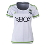 Seattle Sounders 2015 Women's Away Soccer Jersey