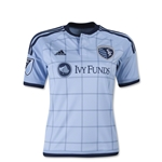 Sporting KC 2015 Youth Home Soccer Jersey