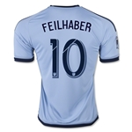 Sporting KC 2015 FEILHABER Home Soccer Jersey
