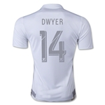 Sporting KC 2015 DWYER Third Soccer Jersey