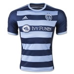 Sporting KC 2015 Authentic Away Soccer Jersey