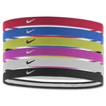 Nike Swoosh Sport Headbands-Six pack (Neon Yello)