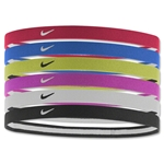 Nike Swoosh Sport Headbands-Six pack (Red)