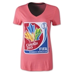 adidas Women's World Cup 2015 Women's Logo T-Shirt
