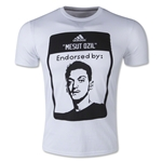 Ozil Face T-Shirt (White)