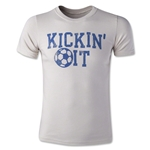 Life is Good Boys Kickin It Soccer T-Shirt (Tan)