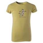 Life is Good Girls Goal Oriented T-Shirt (Green)