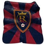 Real Salt Lake Raschel Throw Blanket