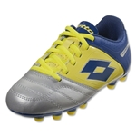 Lotto Stadio Potenza IV 700 Junior (Metal Silver/Chick)