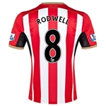 Sunderland 14/15 RODWELL Home Soccer Jersey
