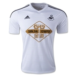 Swansea City 14/15 Authentic Home Soccer Jersey