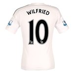 Swansea City 14/15 WILFRIED Authentic Home Soccer Jersey
